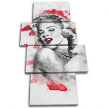 Marilyn Monroe Iconic Celebrities - 13-6023(00B)-MP04-PO
